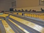 Stora växelströmsstation under uppbyggnad